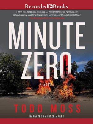 cover image of Minute Zero