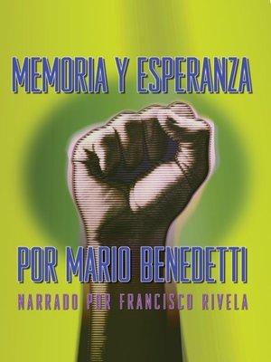 cover image of Memoria y Esperanza