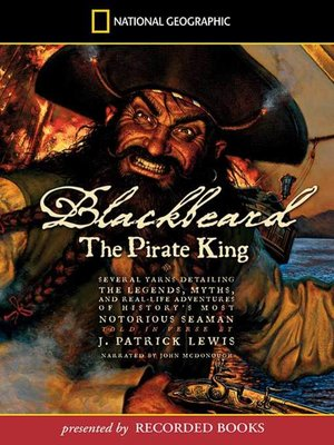 cover image of Blackbeard the Pirate King