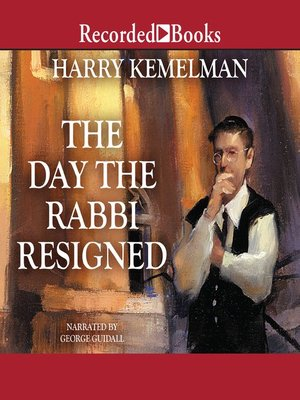 cover image of The Day the Rabbi Resigned