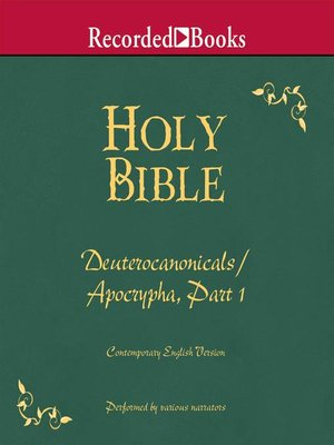 cover image of Part 1, Holy Bible Deuterocanonicals/Apocrypha-Volume 18
