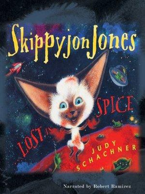 cover image of Skippyjon Jones, Lost in Spice