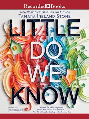 cover image of Little Do We Know