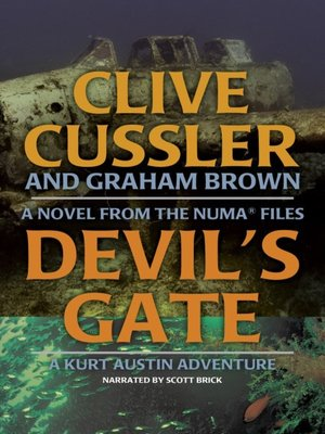 devil s gate cussler clive brown graham