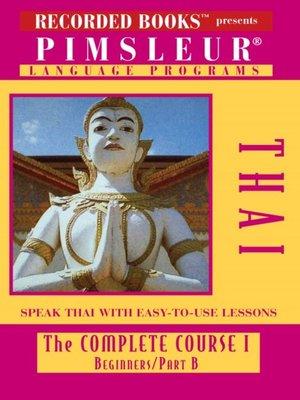 cover image of Thai IB