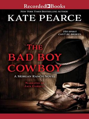 cover image of The Bad Boy Cowboy