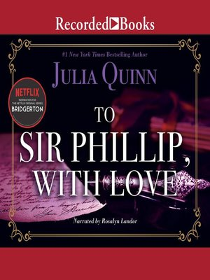 cover image of To Sir Phillip, with Love