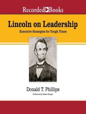 cover image of Lincoln on Leadership
