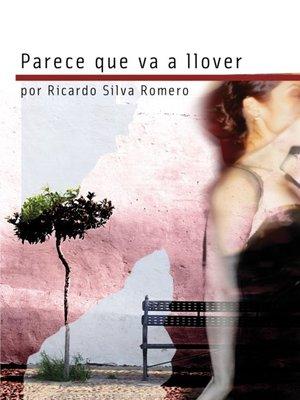 cover image of Parece Que Va a Llover