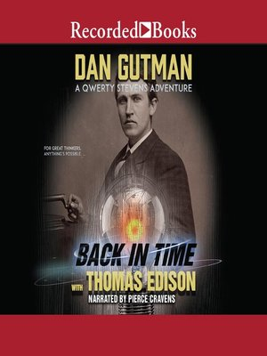 cover image of Back in Time with Thomas Edison