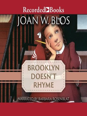 cover image of Brooklyn Doesn't Rhyme