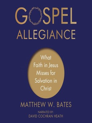 cover image of Gospel Allegiance