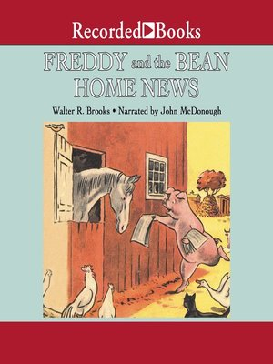 cover image of Freddy and the Bean Home News