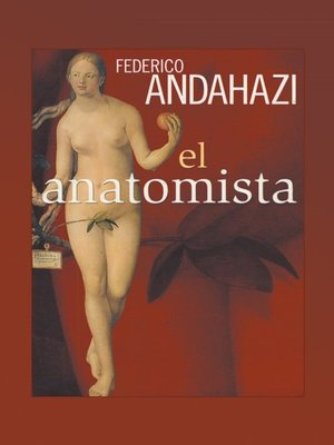 cover image of El anatomista