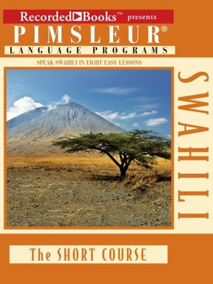 cover image of Swahili