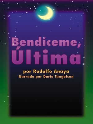 cover image of Bendiceme, Ultima (Bless Me, Ultima)