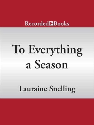 cover image of To Everything a Season