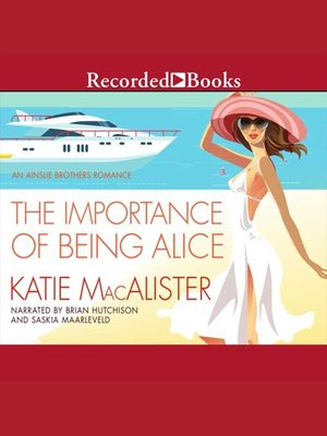 cover image of The Importance of Being Alice