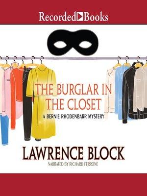 cover image of The Burglar in the Closet