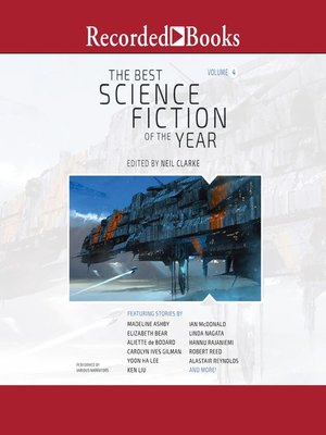 cover image of The Best Science Fiction of the Year, Volume 4