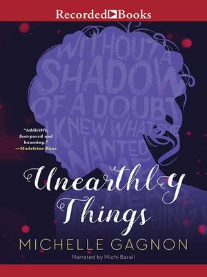 cover image of Unearthly Things