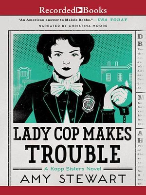 cover image of Lady Cop Makes Trouble