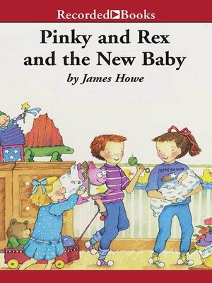 cover image of Pinky and Rex and the New Baby