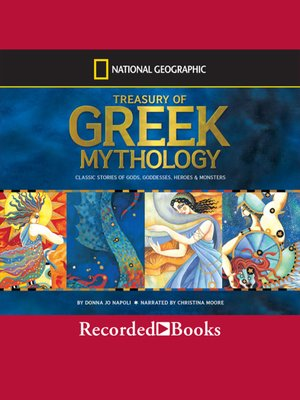 cover image of Treasury of Greek Mythology