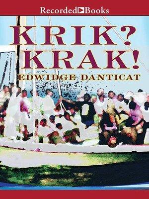 cover image of Krik? Krak!