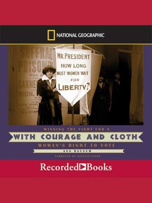 cover image of With Courage and Cloth