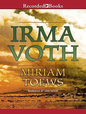 cover image of Irma Voth