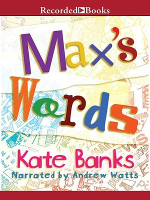 cover image of Max's Words