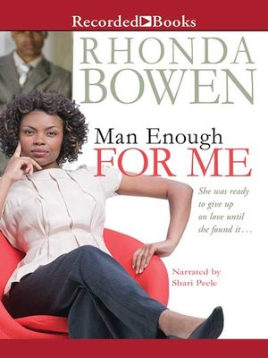 cover image of Man Enough for Me