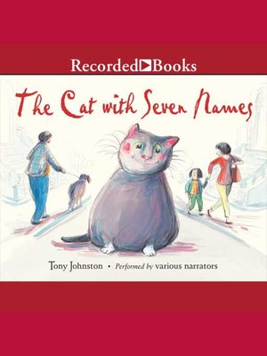 cover image of The Cat With Seven Names