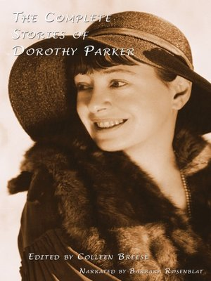 cover image of The Complete Stories of Dorothy Parker