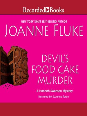 cover image of Devil's Food Cake Murder