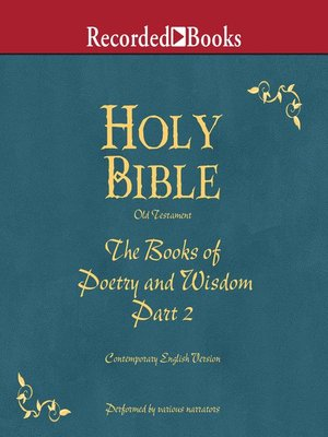 cover image of Part 2, Holy Bible Books of Poetry and Wisdom-Volume 12