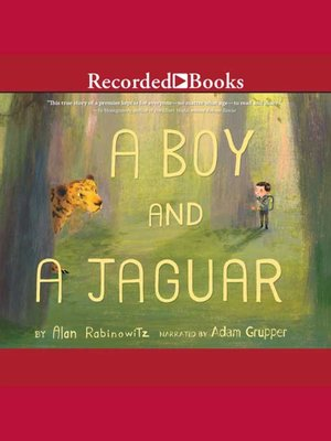 cover image of A Boy And A Jaguar