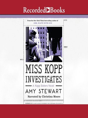 cover image of Miss Kopp Investigates