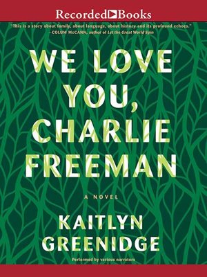 cover image of We Love You, Charlie Freeman