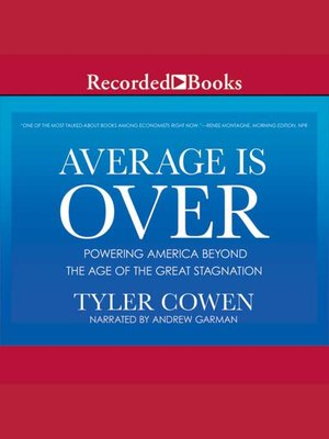 cover image of Average is Over