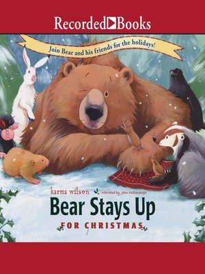 cover image of Bear Stays Up for Christmas