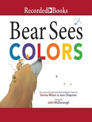 cover image of Bear Sees Colors