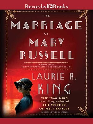 cover image of The Marriage of Mary Russell