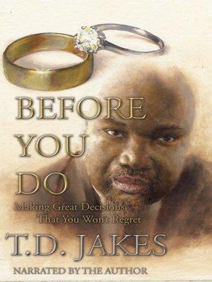 T  D  Jakes · OverDrive (Rakuten OverDrive): eBooks