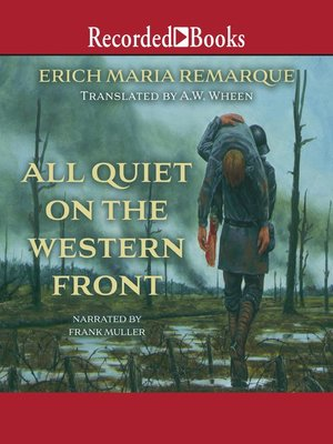 cover image of All Quiet on the Western Front