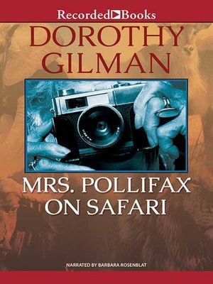 cover image of Mrs. Pollifax on Safari