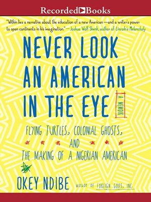 cover image of Never Look an American in the Eye
