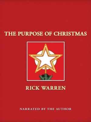 cover image of The Purpose of Christmas