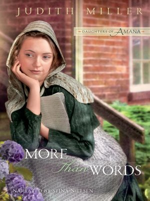 cover image of More Than Words